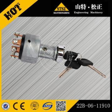 China best quality excavator starting switch 22B-06-11910 for PC450-8/PC400-8/PC55MR-3/PC20MR-3