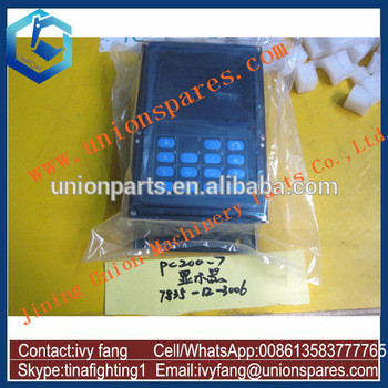7835-10-2001 PC200-7 Monitor for Excavator PC220-7 PC300-7