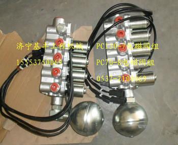 PC130-7 hydraulic pump solenoid valve