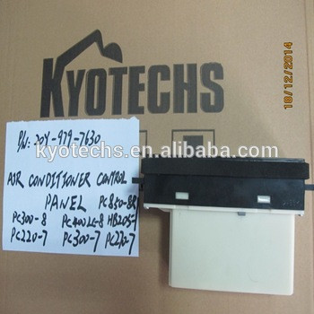 HOT SELL AIR CONDITIONER CONTROL PANEL FOR 20Y-979-7630 20Y-979-7633 20Y-979-7634 PC300-8 PC400LC-8 HB205 PC220-7 PC300-7