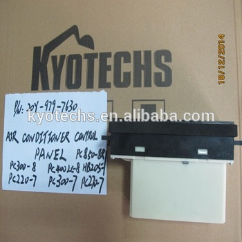 EXCAVATOR AIR CONDITIONER CONTROL PANEL FOR 20Y-979-7630 20Y-979-7631 20Y-979-7632 PC400LC-8 HB205 PC220-7 PC300-7 PC270-7.jpg