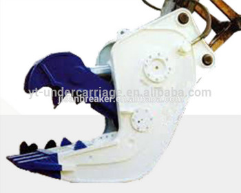 Hydraulic Shears/ crusher/pulverizer pc120-5,pc40,pc50, PC220,PC270 / PC300 / PC360