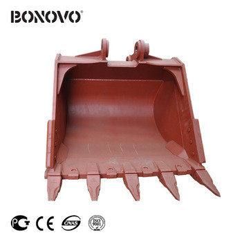 Rock Bucket with Teeth and Shanks for Excavator PC220 PC240 PC270