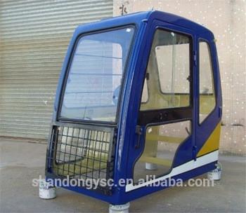 PC200,PC210,PC220,PC240,PC270,PC300,PC360,PC400,PC450 operator cab excavator cab glass excavator driving cab