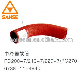 High quality 6738-11-4840 Cooler hose for PC200-7/PC210-7/PC220-7/PC270 Excavator