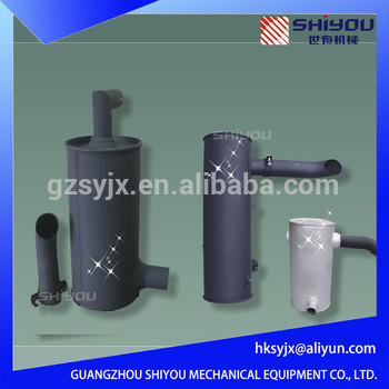 China Gold Supplier Excavator Exhaust Muffer For PC30/40/60/100/120/200/300/400