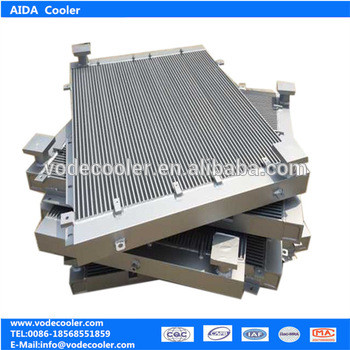 Xinxiang Aida supply oil cooler radiator fins plate with high pressure PC270-7