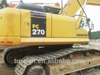 Used Japanese Excavator PC270-7