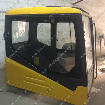 PC160-7 Excavator Cab Assembly PC220-7 PC270-7 Operator Cabin Door With Glass 20Y-54-01113