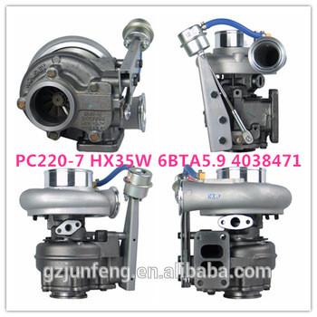Original brand New PC220-7 HX35W Turbo 4038471 6738818192 turbocharger for Komatsu PC270 Excavator Engine SAA6D102E-2