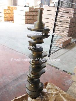 Cast Iron Crankshaft, S6D102 Crankshaft 6735-01-1310 Of Excavators PC200 PC210 pc270 pc228