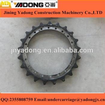 PC300-7 Excavator undercarriage spare parts 207-27-61210 drive sprocket