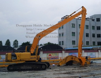 100% New PC210/PC240/PC270/PC300 18Meters long reach boom and stick