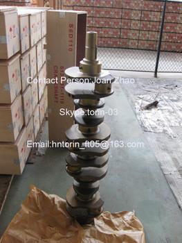 42 CrMo Material Crankshaft, S6D105 Crankshaft 6136-31-1010 Of Excavators PC200 PC210 pc270 pc228