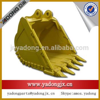 excavator PC270-7 bucket, bucket teeth,adapter from Jining Manufacture