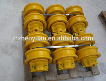 High quality PC270 PC400 excavator track bottom roller for sale