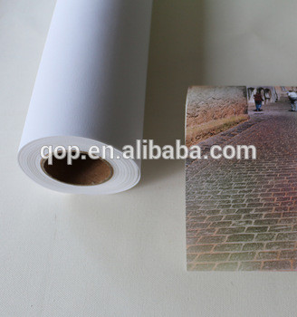 premium waterproof aqueous matte 100% polyester large blank stretched canvas for pigment ink