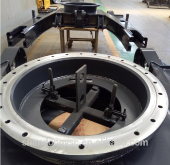 China factory supplier excavator undercarriage parts track frame for PC220-7-8/PC240/PC270/PC300/PC360-7/PC400LC-7/PC450-7