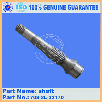 front shaft 708-2L-32110 PC270-6 hydraulic parts excavator parts