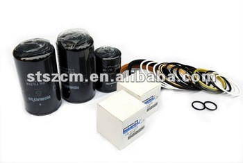 parts PC220-7 hydraulic oil filter 207-60-71181 excavator spare parts In Stock