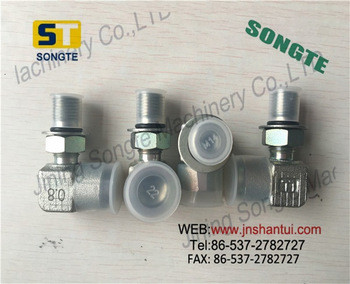 Excavator PC270 Main Control Valve Connecting Parts, Elbow 20F-61-12460
