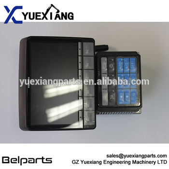 Excavator electric spare parts display panel PC200-8 7835-31-1003 monitor for PC200-8 PC220-8 PC270-8 PC210LC-8 PC240/290LC-8