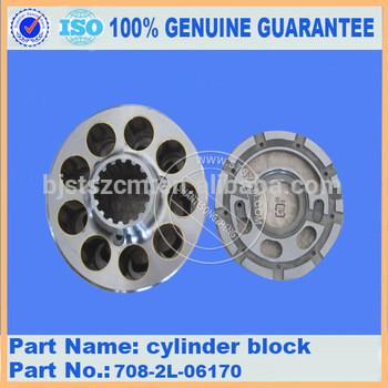 Supply PC270-7 cylinder block 706-7G-41310 plate 706-7G-41720