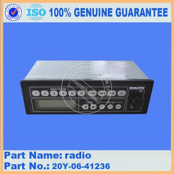 Excavator Radio 20Y-06-41236 for PC200-8 PC220-8 PC270-8 PC300-7