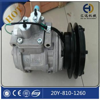 JINING HUIDA 20Y-810-1260 PC200-8 air conditioner compressor