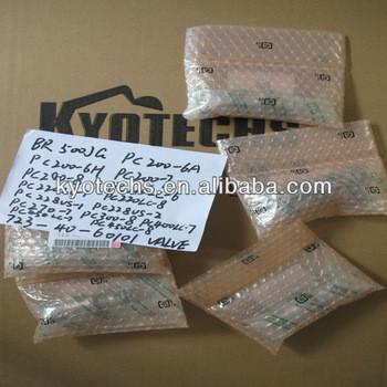 valve for BR500JG PC200-6A PC200-6H PC200-7 PC200-8 PC210LC-6 PC220LC-7 PC220LC-8 PC228US-1 PC228US-2 PC270-7 723-40-60101