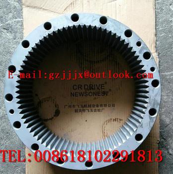 PC270-7 PC210-7 PC210LC-7 PC220LC-7 Swing Casing,Travel Ring Gear,Swing Ring Gear , Apply To KOMATSU excavator parts