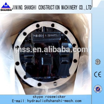excavator XE60,XE80,XE80C final drive track device TM09 hydraulic motor