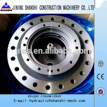 SK120-3 travel gearbox kobelco final drive without motor SK120-5,SK120-8 travel reduction gear
