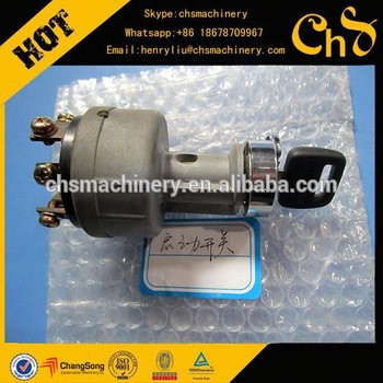 PC120-6 PC60-7 PC350-7 PC360-7 Original Aftermarket Excavator Key Ignition Switch 22B-06-11910, Starter Motor switch