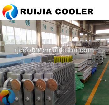 PC56 Oil Cooler for Earth Moving Equipment Excavator radiator intercooler condenser manufacturer