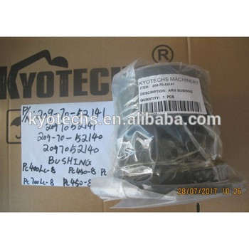 BUSHIING FOR 209-70-52141 2097052141 209-70-52140 2097052140 PC400LC-8 PC450-8 PC700LC-8 PC450-8