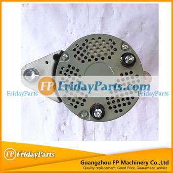 Diesel Engine Alternator 600-861-3111 Alternator Parts 6743-61-3810 for Engine 4D102E PC360-7 PC220-6 PC200-8