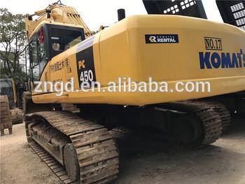 Japan Komat PC450-8 excavator made in 2014 used condition komat PC450-8 crawler excavator