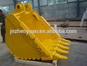 PC300-7 excavator bucket,standard bucket,rock bucket for excavator PC270-7 PC360-7 PC400-8 PC450-8