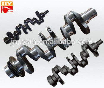 PC360-7 excavator engine assy 6D114 single Cylinder crankshaft 6742-01-1570