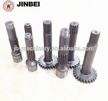 excavator gears shaft for PC50,PC55,PC56,swing gear shaft,PC60-6,PC60-7,PC75,PC120-6,PC120-7planetary reducer gears PC200-6/7