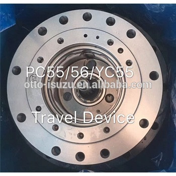 PC55 PC56 YC55 PC60-6 PC60-7 Mini Excavator Travel Motor Reduction Gearbox