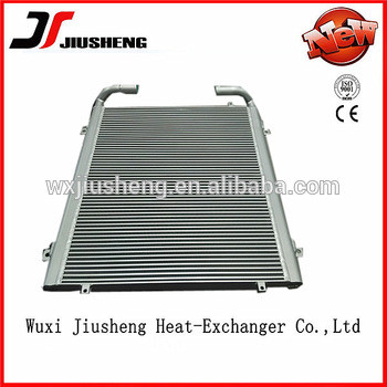 aluminum hydraulic oil cooler for PC220-6 excavator cooler price,PC350-7 PC360-7 PC360-7 PC400-5/6 PC450-8