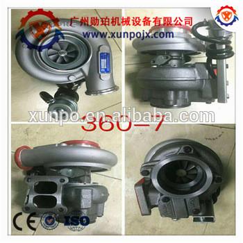 Factory direct sale 6743-81-8040 for excavator PC360-7 HX40W SAA6D114E,PC300-8/PC350-7/PC350-8/PC360-8 turbocharger.