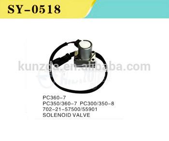 High Quality Excavator Parts PC300-8 PC350-7 PC350-8 PC360-7 Main Service Valve Solenoid Valves 702-21-57500 702-21-55901