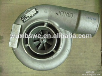 High performance ! Excavator parts PC450-8 turbochargers KTR90-332E 6506-21-5020 turbo for Komatsu of wuxi booshiwheel
