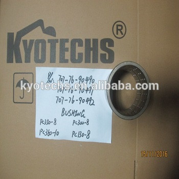 BUSHING FOR 700-76-90490 707-76-90491 707-76-90492 PC350-8 PC300-8 PC360-10 PC130-8