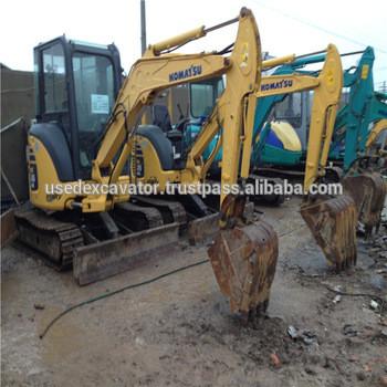 Komatsu Mini PC35MR excavator, used pop komatsu mini excavators for sale, PC56, PC60 excavators