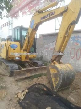 Used condition PC56MR 5.6T crawler excavator second hand PC56MR 5.5t crawler excavator used PC55 mini