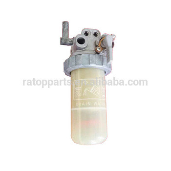 high quality excavator parts PC56-7 oil-water separator